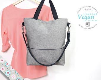 Bag, Messenger bag, shoulder bag, shoulder bag, man's pocket, man bag, Canvastasche, cloth bag, diaper bag, bag vegan,