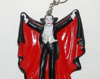 Count Dracula Keychain Universal Monsters Vampire Key Chain Vintage 1991