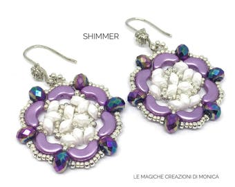 DIY ITA - ENG Tutorial Shimmer earrings