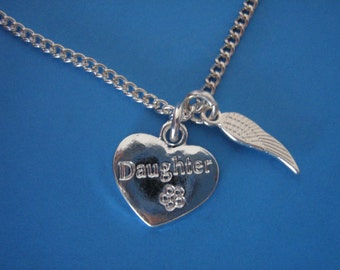 Daughter Bereavement Necklace In Memory of a Daughter Sympathy Gift for the Loss of a Daughter
