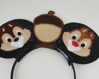 Disney Inspired Mouse Ears Chipmunk Style