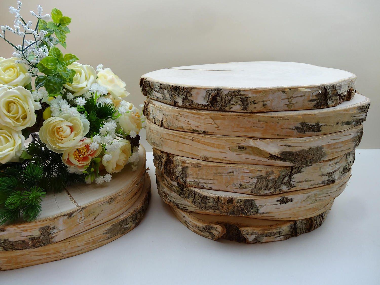 Wood Rounds Centerpieces -  158 65