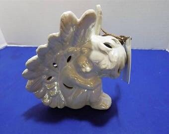 NEW Ceramic Figurine Angels GC Naturals Potpourri Sachet Holder Scent Home Decor Holiday Christams Spiritual