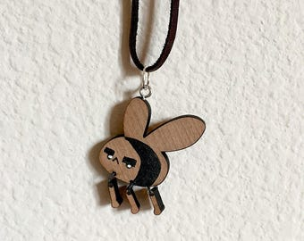 Angreebee Wooden Necklace