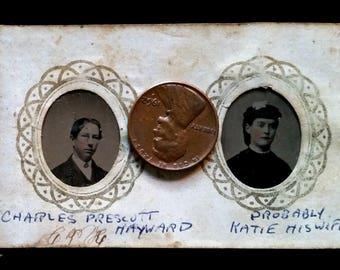 Victorian Gem Tintype Album