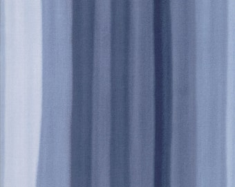 Spectrum Indigo Ombre Stripes Yardage SKU# 10861-16 Spectrum by V & Co. for Moda Fabrics
