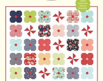 Wildflowers by Bonnie Olaveson for Cotton Way #1008