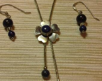 Lapis flower set