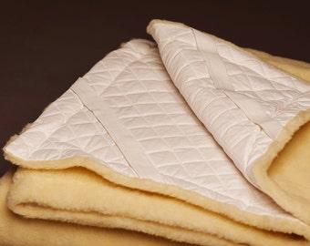 Mattress Topper / Natural Norwegian Wool / Mattress Sheets