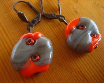 Handmade Glassbead Earrings
