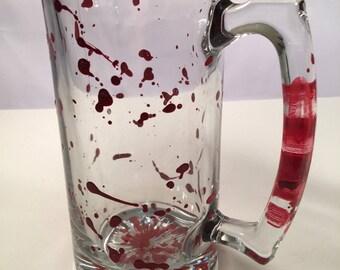 BloodSpattered Beer Mug