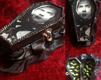 Bela Lugosi DRACULA Coffin Jewelry Box