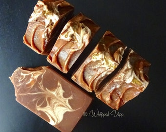 Vanilla Spice Soap Made with pumpkin ale