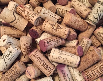 100 Used Wine Corks