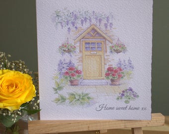 "6"" x 6"" New Home Card & Envelope"