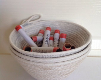 Rope Bowl | Cotton Rope Bowl | Home Decor