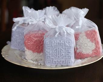 Moon Cake Bubble Cakes