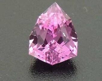 Extra Fine Ceylon 0.44ct custom cut Pink Sapphire