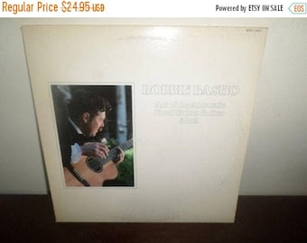 Save 30% Today Vintage 1979 Vinyl LP Record Art of the Acoustic Steel String Guitar 6&12 Robbie Basho Very Good Condition 4140