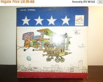 Save 30% Today Vintage 1967 LP Record Jefferson Airplane After Bathing At Baxters Very Good Condition 8525