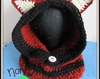 Crochet Fox Snood