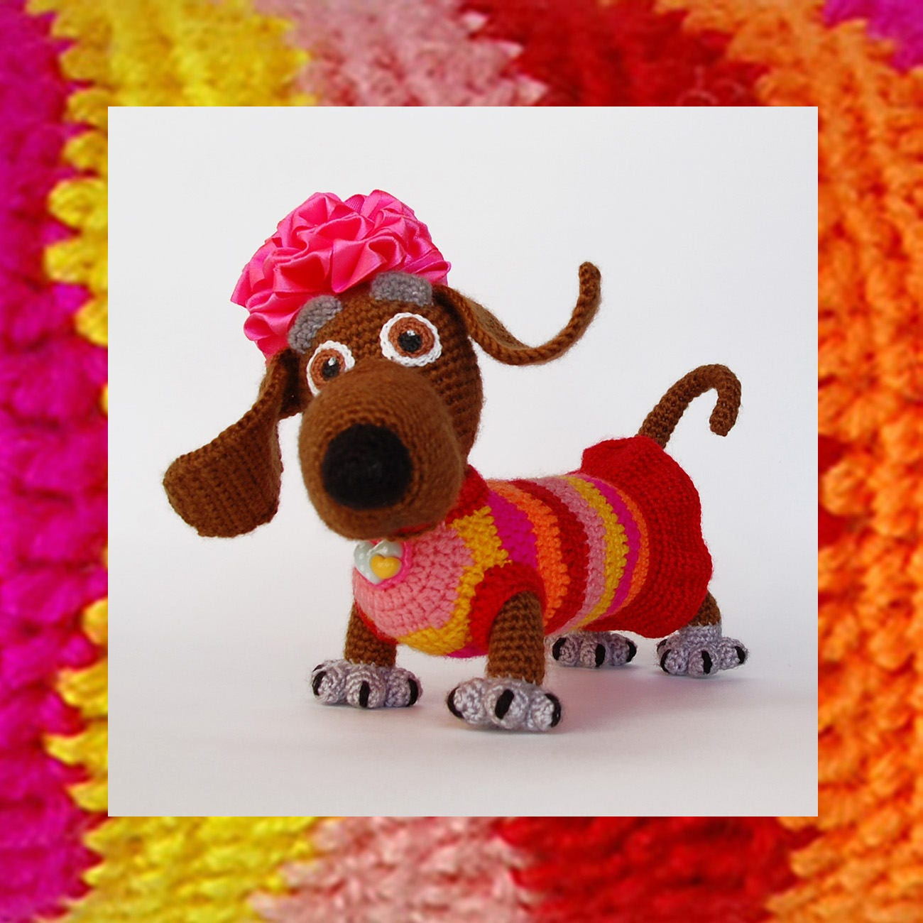Amigurumi dog pattern crochet tabby lady dog amigurumis zoom bankloansurffo Gallery