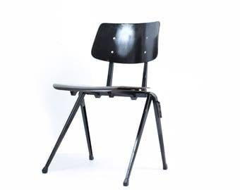 Galvanitas stackable industrial chair.