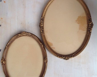 2 vintage photo frames from Norway