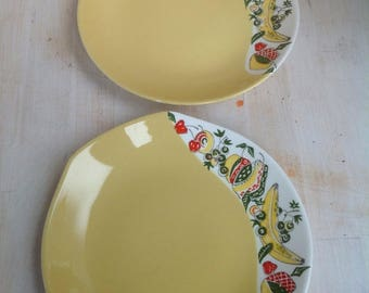 Vintage plates from Figgjo Norway