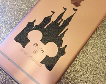 Mickey Castle Decal For Iphone