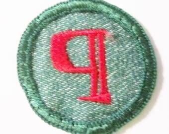 "Vintage Intermediate Girl Scout Badge ""Journalist"" circa 1950's"