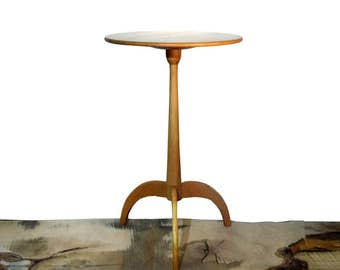 End Table Shaker Candle Table, Handmade, Cherry Wood, side table, telephone table, bedside table, entry way table, small table