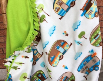 Happy Camper Bedding Etsy