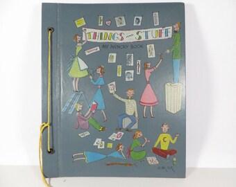 Mid Century Betty Betz Scrapbook -  Vintage Betty Betz Memory Scrapbook