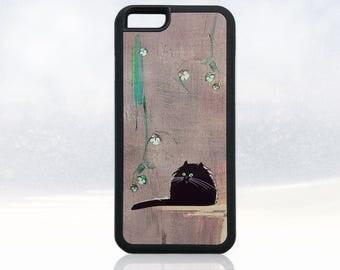 Cat iPhone 6 case, black cat iPhone 6 cover, fat cat iPhone 6s case, funny cat iPhone 6 case, nature iPhone 6 case, cute, cool, unique