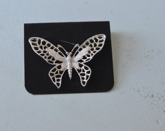 SILVER Butterfly 6441 SARAH COVENTRY Brooch ~ Original Box