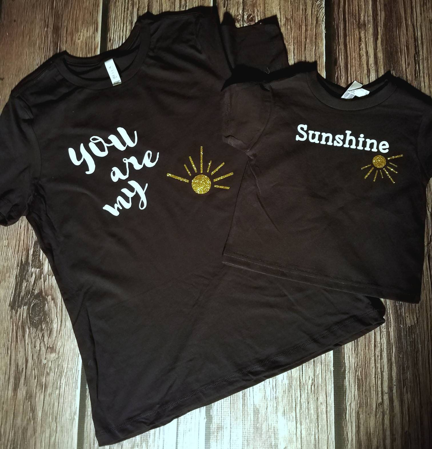 Mother Daughter Shirts You Are My Sunshine Shirt