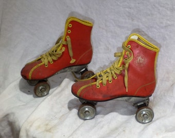 Roller Skates, Vintage Roller Derby, Retro Mid Century Salvage