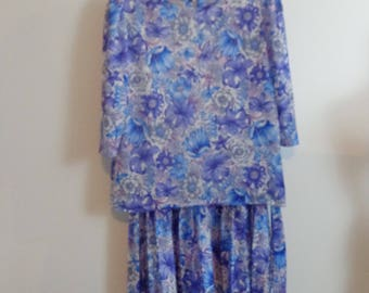 "HALF PRICE Vintage "" California Look"" Dress Big Dress Size 16 Dress 80s Dress Vintage Dress"