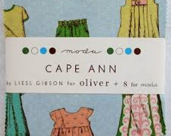 Cape Ann by Liesl Gibson for oliver and s for moda  Charm Pack