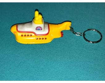 Hot Wheels The Beatles Yellow Submarine custom keychain