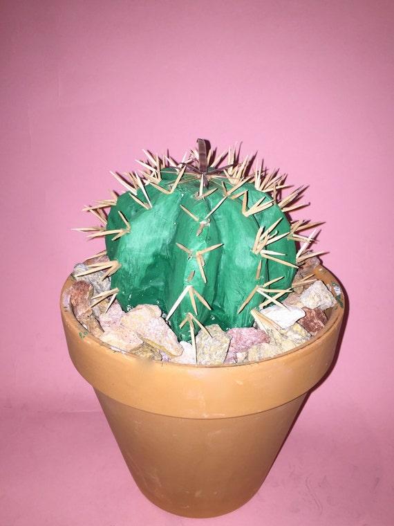 Baby barrel cactus fake plant Baby Barrel Cactus