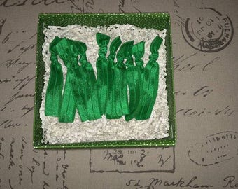 10 Emi Jay Inspired Emerald Green Hair Ties! Perfect for St. Patrick's Day!