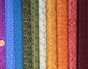 Legendary Basics Rainbow Fat Quarter Bundle by Jason Yenter for In the Beginning