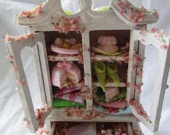 Princess and the Pea faerie cupboard