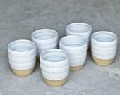 Ceramic Cup - READY TO SHIP - Handmade Pottery Mug - Ceramic Tumblers - Handmade Mug - Milk Cup - Juice Cup