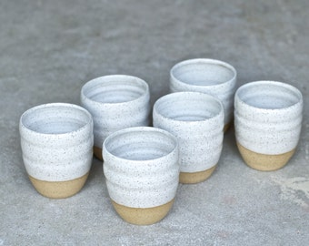 Ceramic Cup - Handmade Pottery Mug - Ceramic Tumblers - Handmade Mug - Milk Cup - Juice Cup - READY TO SHIP