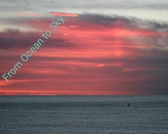 Photograph: 'Pink Cross Sunset'