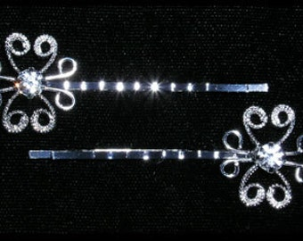 Style # 15245 - Wire Butterfly Bobbie Pins
