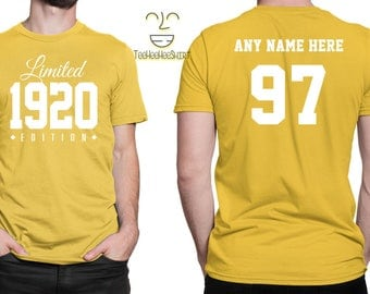 1920 Limited Edition 97th Birthday Party Shirt, 97 years old shirt, limited edition 97 year old, 97th birthday party tee shirt
